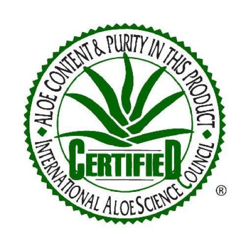 Знаки и сертификат научного совета по алоэ компании Форевер.
