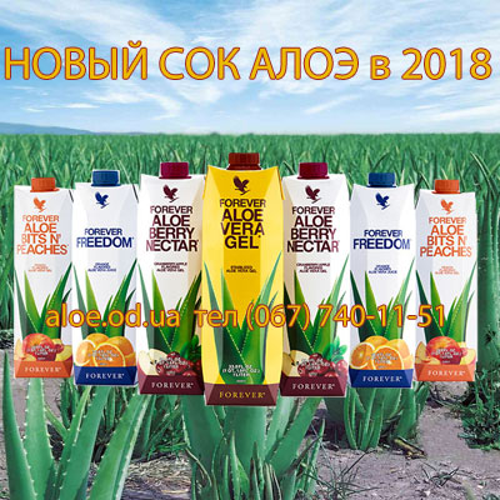 Sok Aloe Vera Forever купить в Украине.