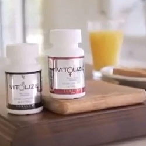 Видео: ВИТОЛАЙЗ Форевер витамины для жещин и мужчин.