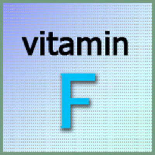 Ненасыщенные жирные кислоты - витамин F.