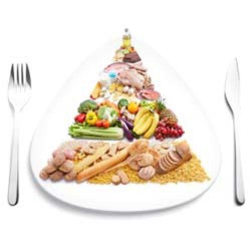 Утрення зарядка и правильное питание.