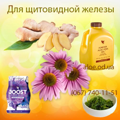 Продукты для улучшения работы щитовидной железы.