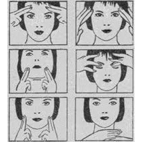 Массаж для лица.