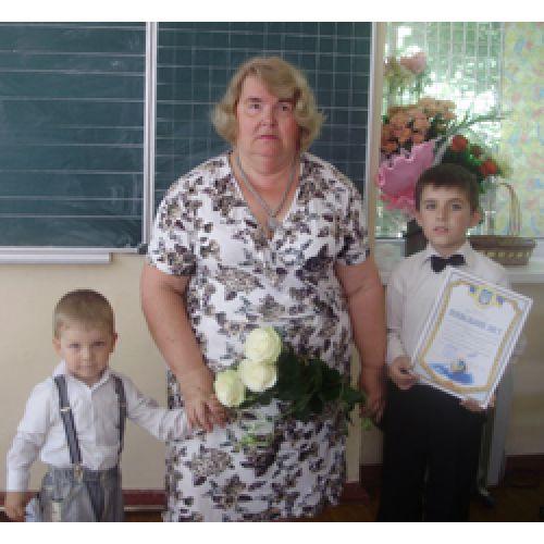 Моя перша Вчителька - Людмила Григорівна Циганенко.