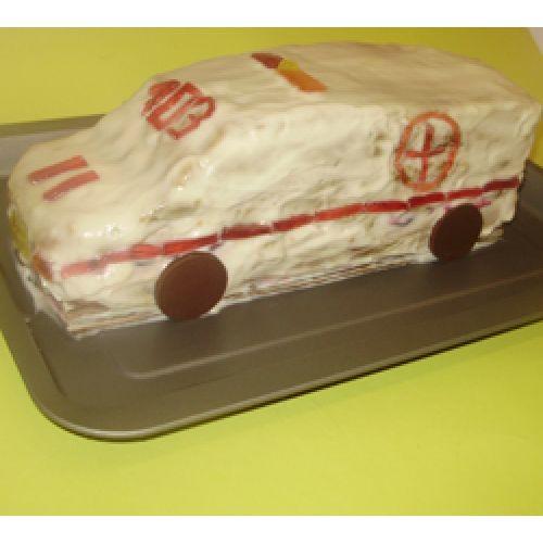 Торт ко дню Медработника Скорая помощь.