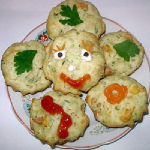 Кулинарные шедевры: Кексы закусочные.