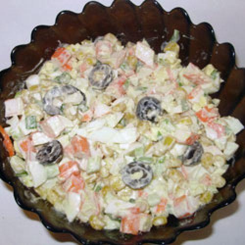 Кулинарные шедевры: Салат Экспромт.