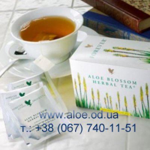 Продукты пчеловодства и чай с Алоэ.